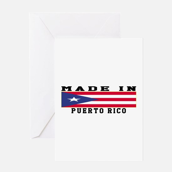 Puerto Rico Made In Greeting Card