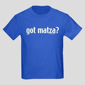 Got Matza? Passover Kids Dark T-Shirt