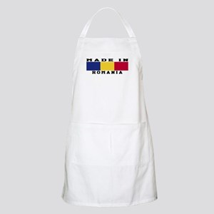 Romania Made In Apron
