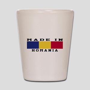 Romania Made In Shot Glass