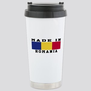 Romania Made In Stainless Steel Travel Mug