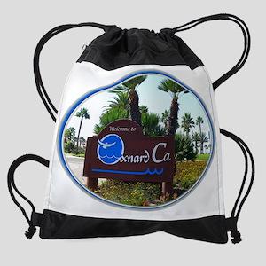 Oxnard California Drawstring Bag