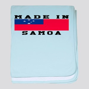 Samoa Made In baby blanket