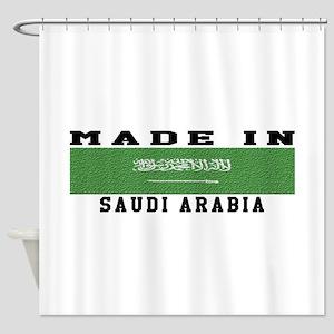 Saudi Arabia Made In Shower Curtain