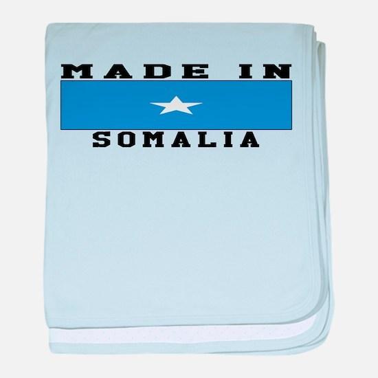 Somalia Made In baby blanket