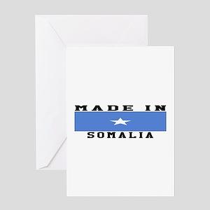 Somalia Made In Greeting Card