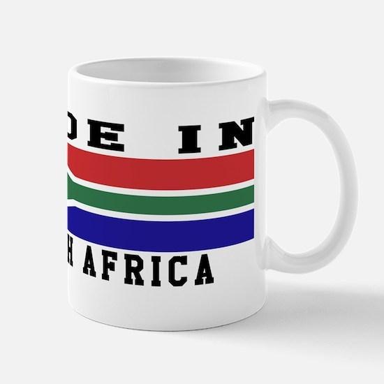 South Africa Made In Mug