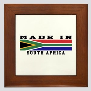 South Africa Made In Framed Tile