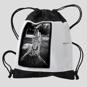 11X9_Laughing Drawstring Bag