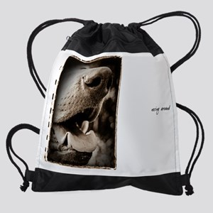 11X9_NosingAround_2 Drawstring Bag