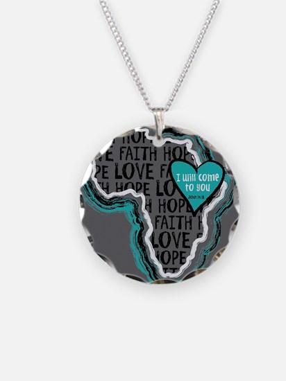 Cute Ethiopia adoption Necklace