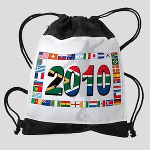 world cup flag(n) Drawstring Bag