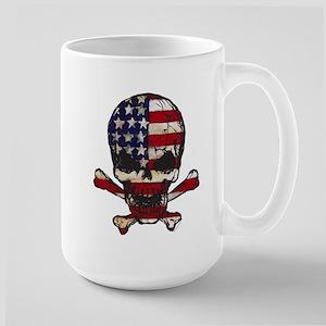 Flag-painted-Skull Mug