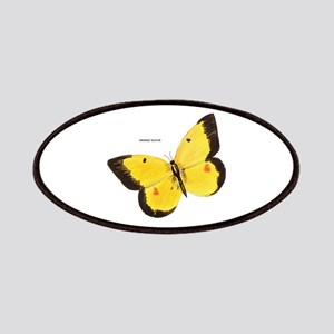 Orange Sulfur Butterfly Patches