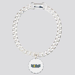 Sweden Made In Charm Bracelet, One Charm