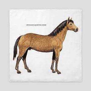 American Quarter Horse Queen Duvet