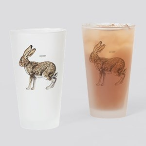 Jack Rabbit Drinking Glass