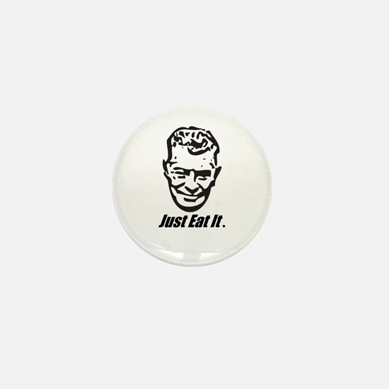 Euell Gibbons will eat it. Mini Button