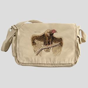 Turkey Vulture Bird Messenger Bag