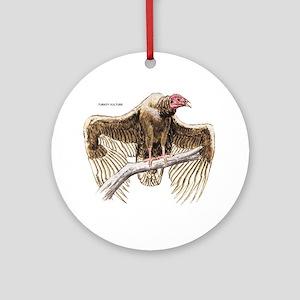 Turkey Vulture Bird Ornament (Round)