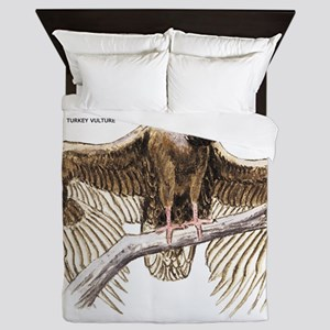 Turkey Vulture Bird Queen Duvet