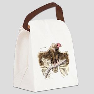 Turkey Vulture Bird Canvas Lunch Bag