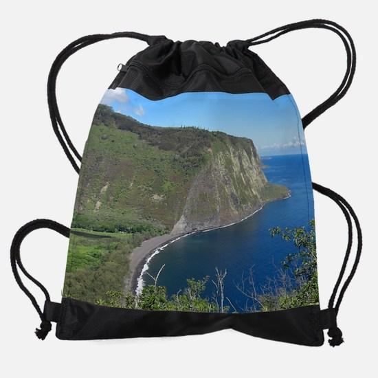 waipiovalley_smlpost.png Drawstring Bag