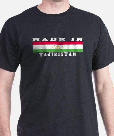Tajikistan Made In T-Shirt