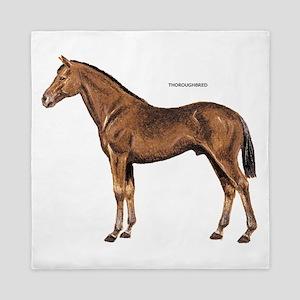 Thoroughbred Horse Queen Duvet