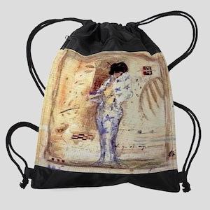 Blush-Mini Drawstring Bag