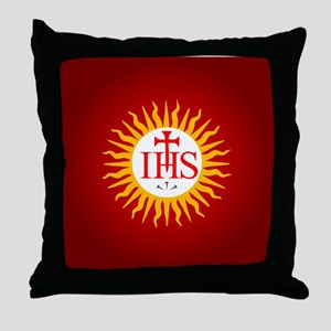 Jesuit Throw Pillow