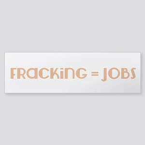 Pro-Fracking Sticker (Bumper 10 pack)