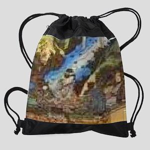 japan_painting2 Drawstring Bag