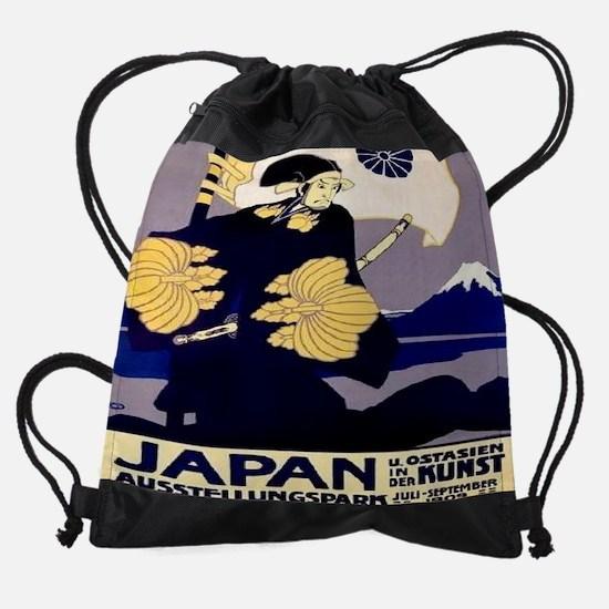 Japan-East-Asia-in-Art-Exhibition-1 Drawstring Bag