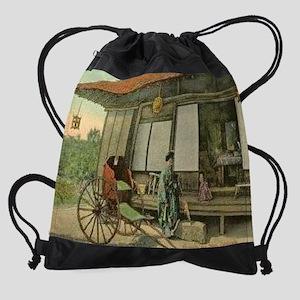 Japanese-Tea-Garden-San-Diego-Calif Drawstring Bag