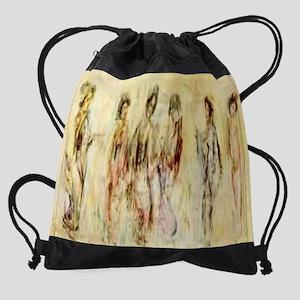 Oriental-Dancers--C10087733 Drawstring Bag