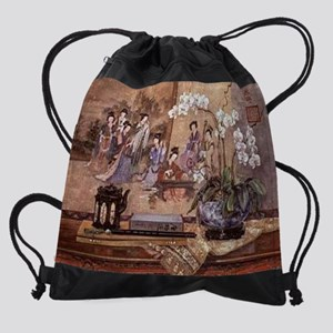 Poetic-Melody--C10399316 Drawstring Bag