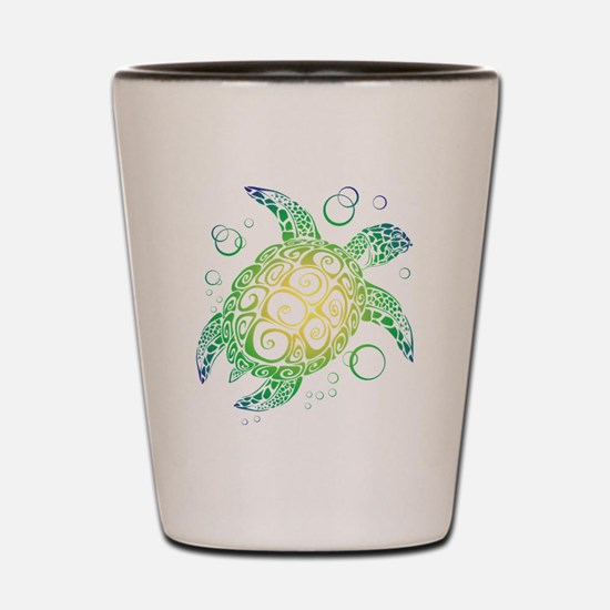 Cute Turtle Shot Glass