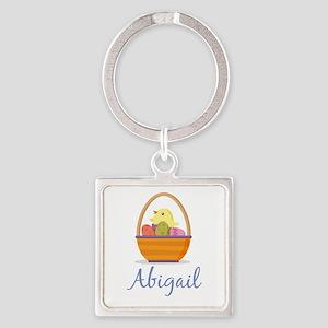 Easter Basket Abigail Keychains