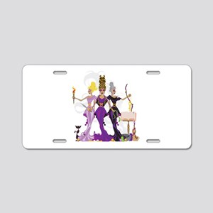 Hecate Aluminum License Plate