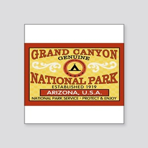 Grand Canyon National Park Rectangle Sticker