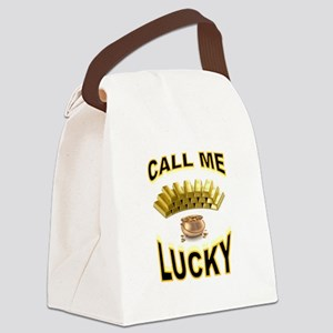LUCKY Canvas Lunch Bag