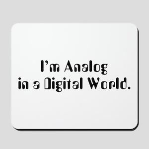 I'm Analog Mousepad