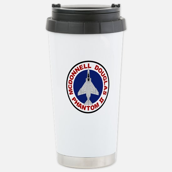 F-4 Phantom Stainless Steel Travel Mug