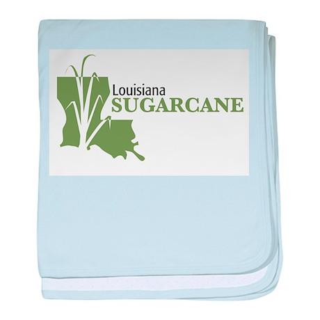 Louisiana Sugarcane baby blanket