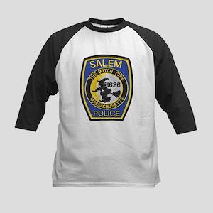 Salem Police Kids Baseball Jersey