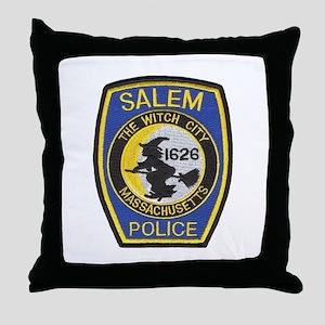 Salem Police Throw Pillow