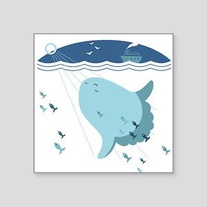 """Mola Mola - Square Sticker 3"""" x 3"""""""