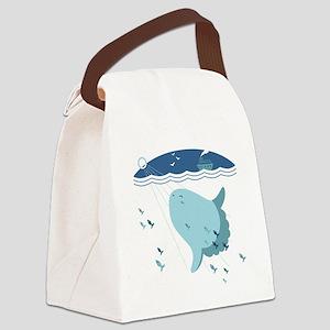 Mola Mola - Canvas Lunch Bag