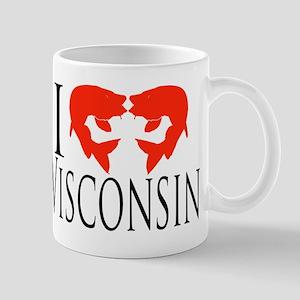 I fish Wisconsin Mug